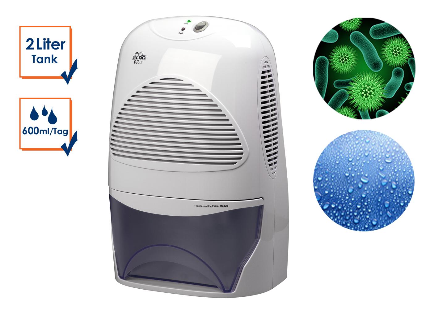 Adsorbimento asciugatrice per entfeuchten contro muffa-Consumo energetico 69,6 Watt