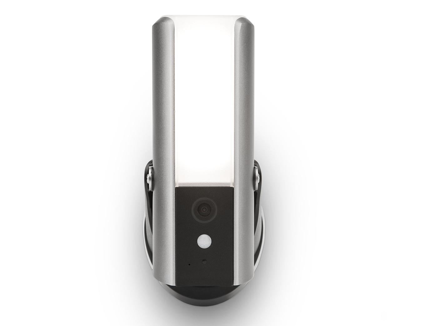 Wlan Camera Smartphone App LED Wandleuchte außen mit Überwachungskamera