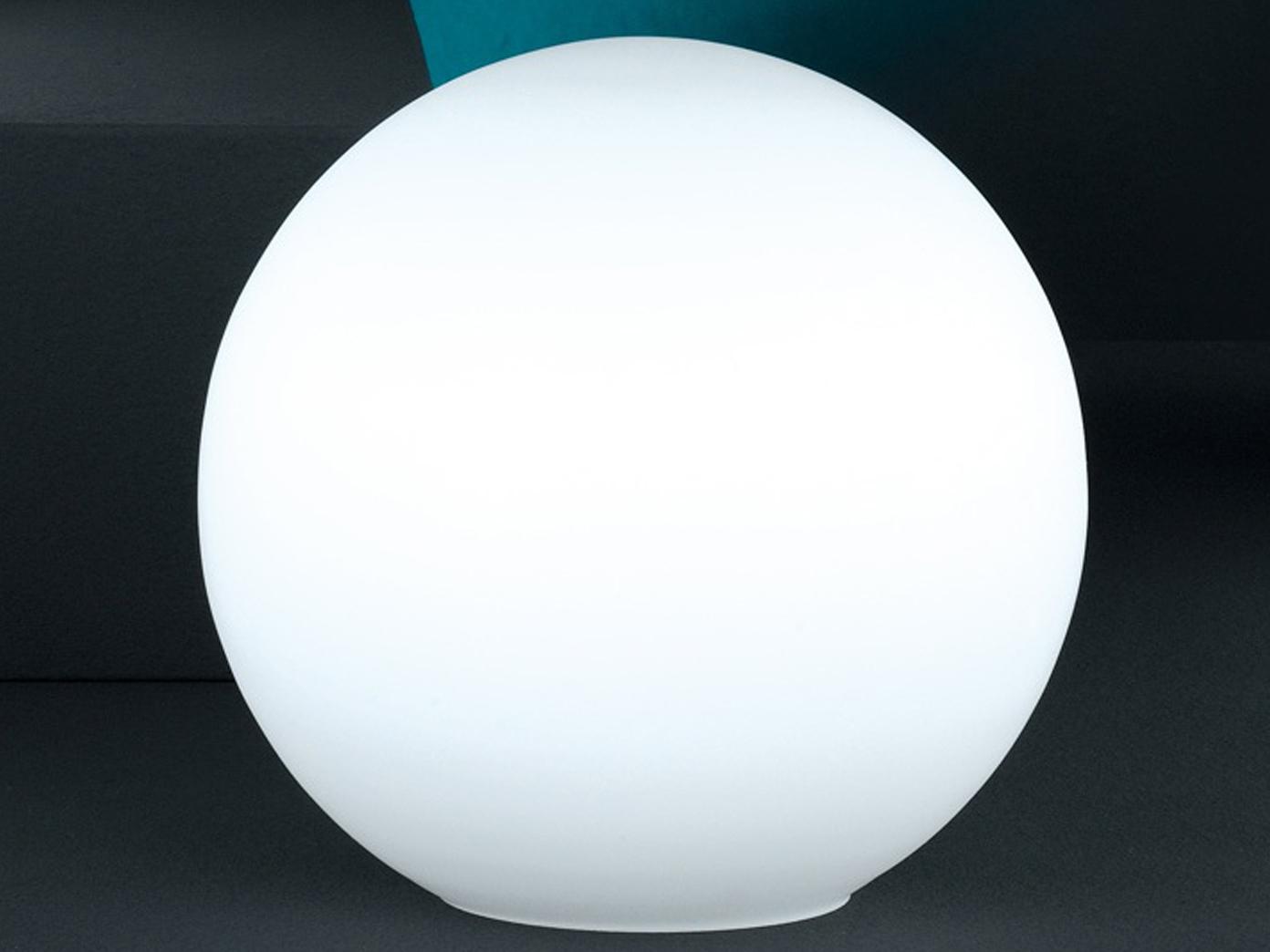 opalglas weiß matt Ø 25 cm Tischleuchte Honsel Tischlampe KUGEL OPAL