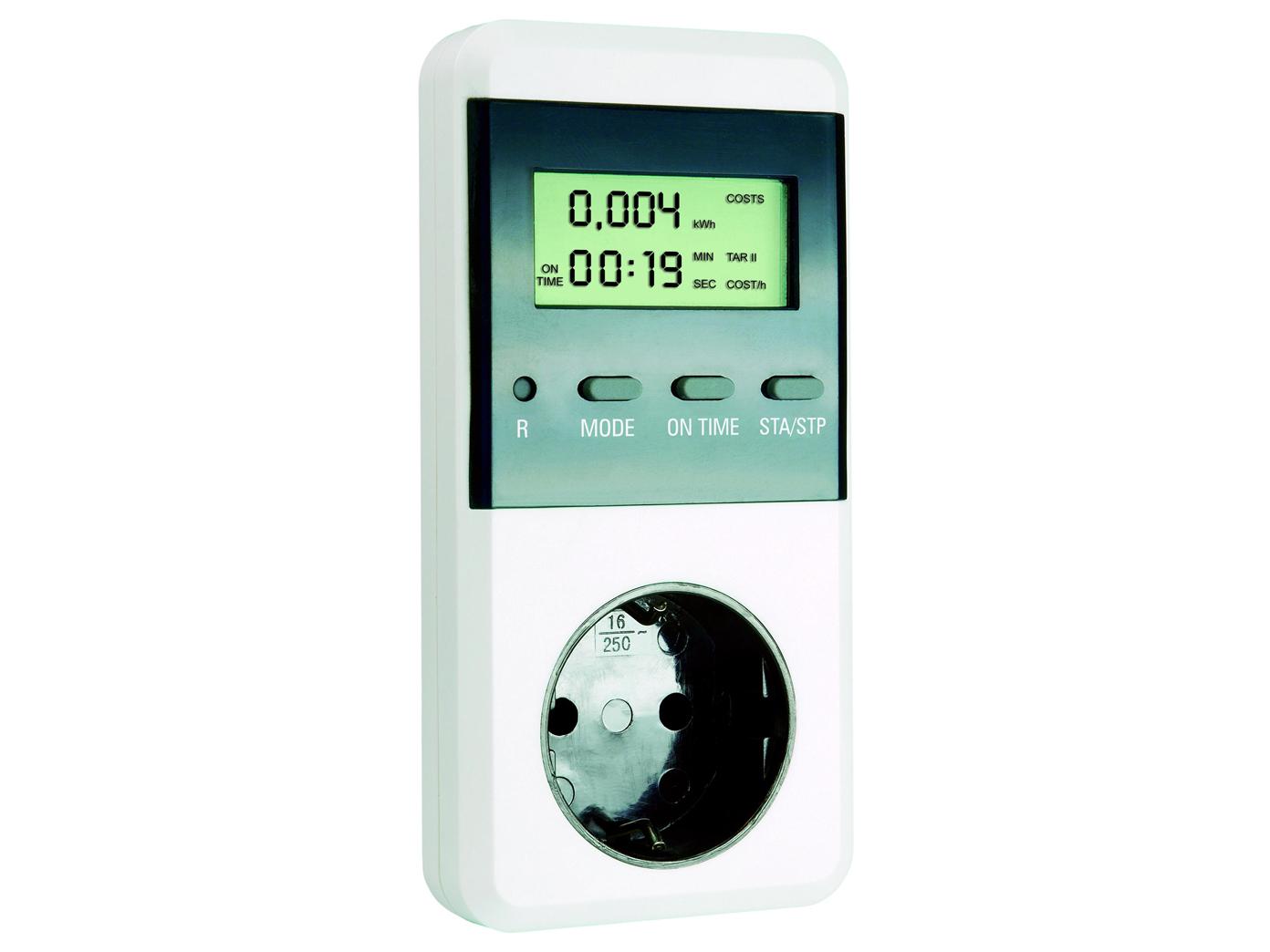 Stromkostenberechnung Energiekosten-Meßgerät Höchst//Tiefstwerte