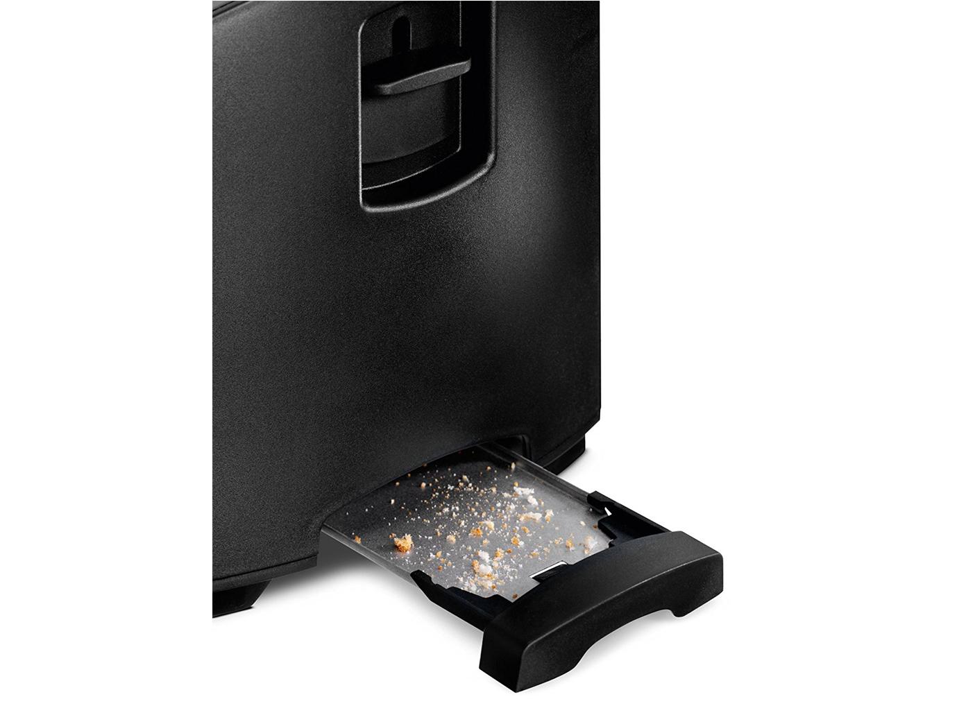 Mini Brotröster 2 Scheiben Toaster Röster automatisch toasten aufwärmen auftauen