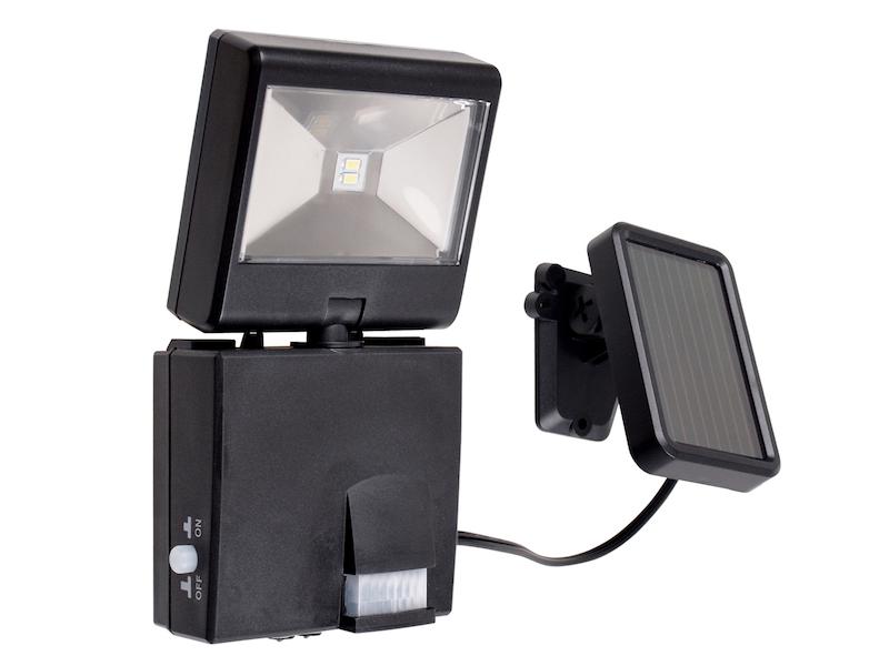 LED Wegeleuchte Mit Solarpanel + Bewegungsmelder, Solar