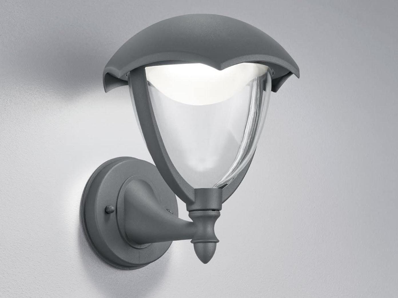 LED Außenlampe GRACHT anthrazit Wandleuchte Laterne Außenbeleuchtung Haus IP54