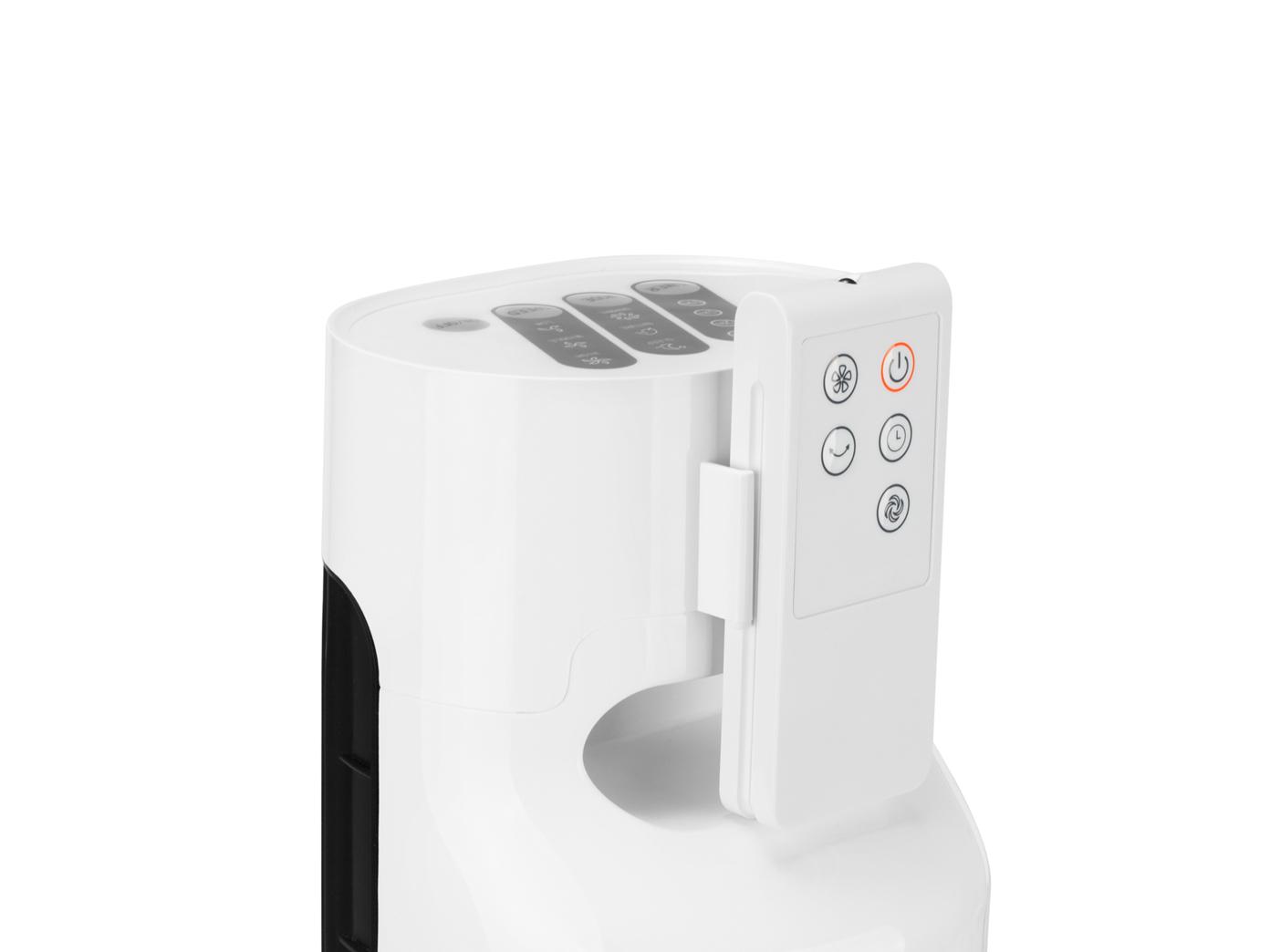 tower ventilator mit timer fernbedienung 3 stufen oszillierend turmventilator ebay. Black Bedroom Furniture Sets. Home Design Ideas