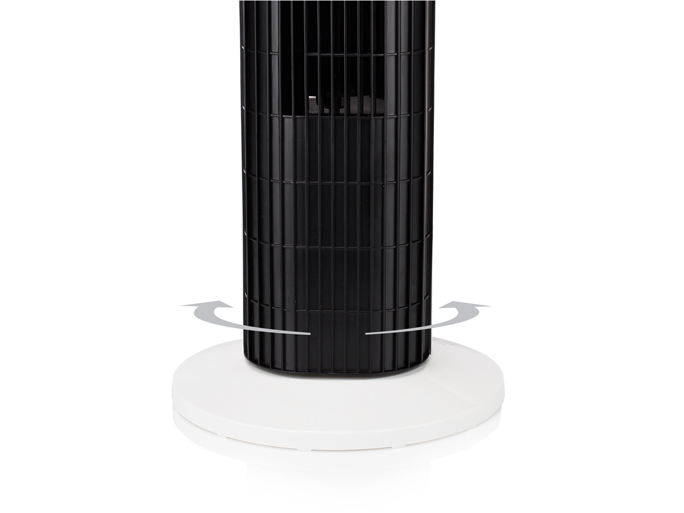 tower ventilator mit timer fernbedienung 3 stufen. Black Bedroom Furniture Sets. Home Design Ideas
