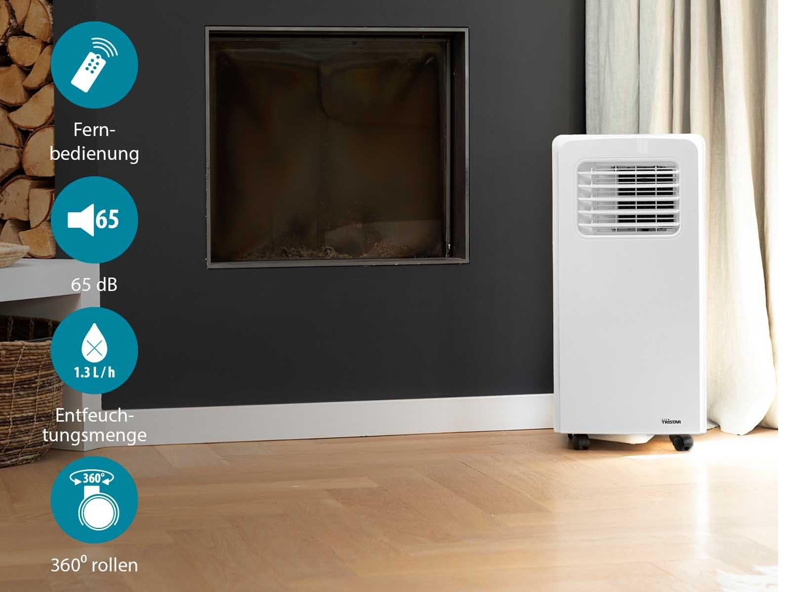 monoblock klimager t portabel eek a 3 0kw klimaanlage l ftk hler raumk hler ebay. Black Bedroom Furniture Sets. Home Design Ideas