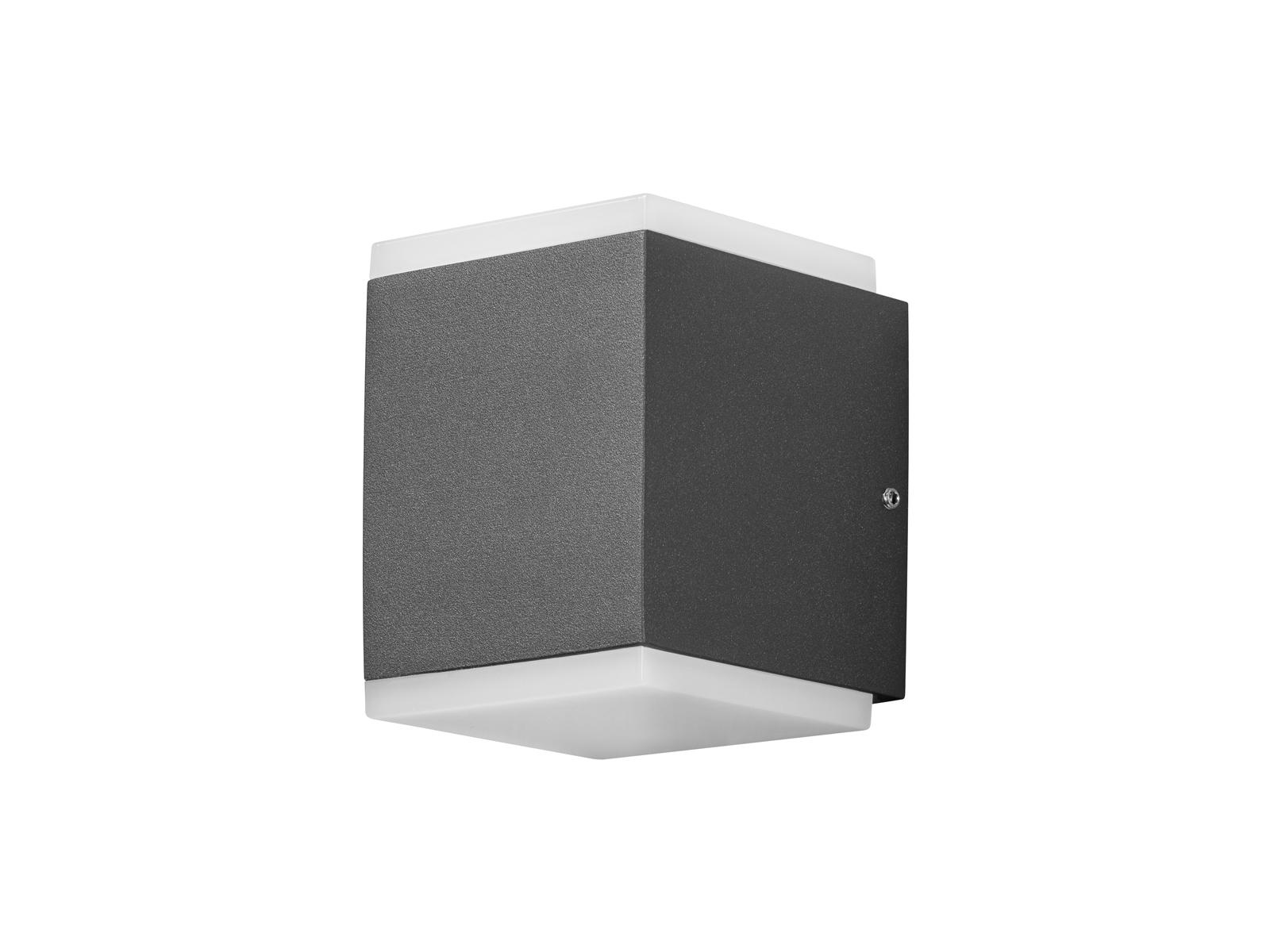 led wandlampe au en ip54 anthrazit 2x 12w led au enleuchten gartenbeleuchtung eur 66 99. Black Bedroom Furniture Sets. Home Design Ideas