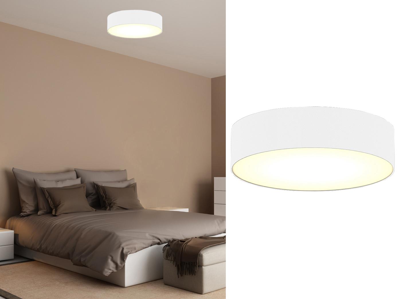 Techo moderna iluminación sustancia paraguas alrededor blanco de Ø ...