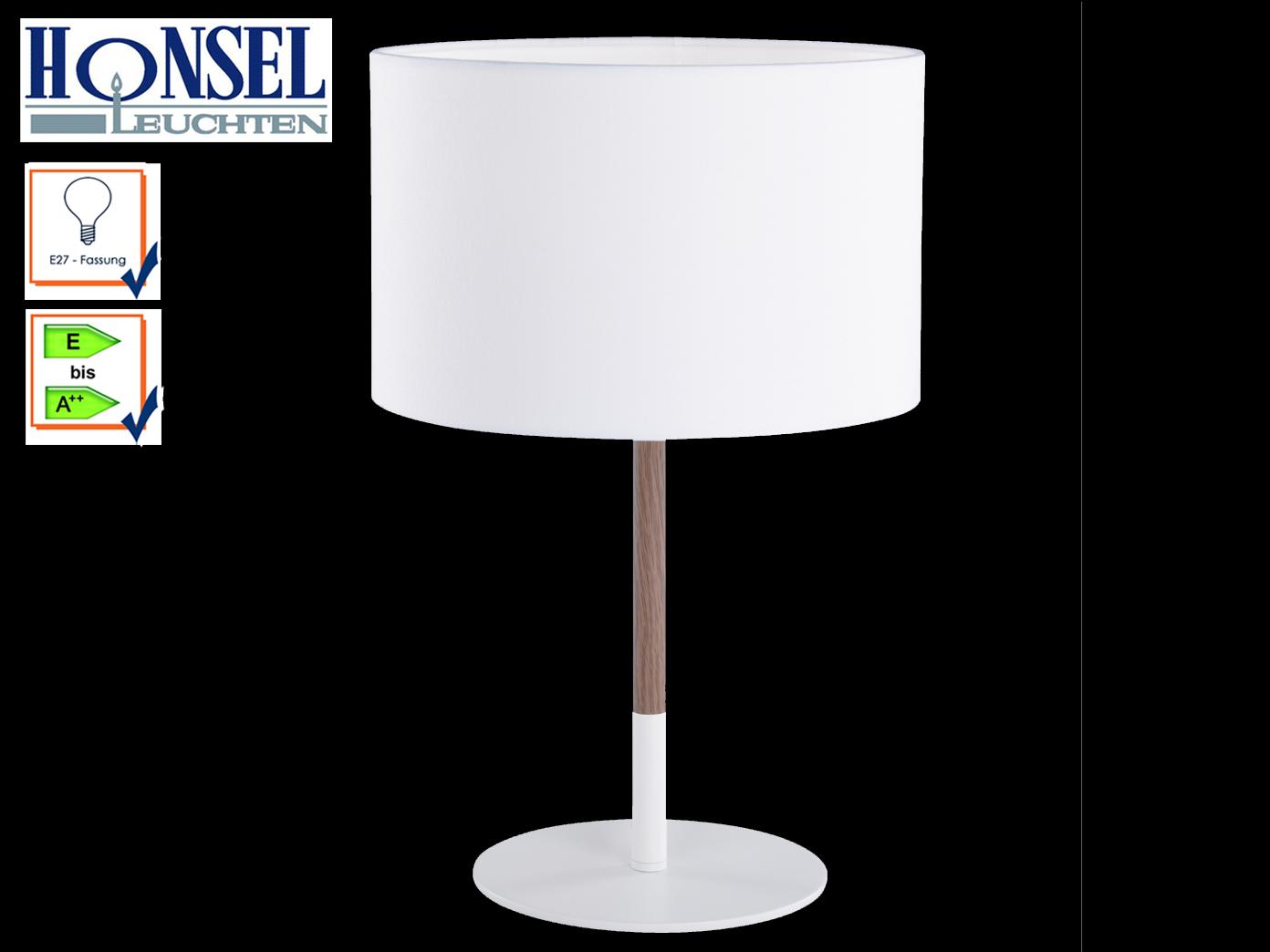 Malerisch Moderne Tischlampen Foto Von Das Bild Wird Geladen Edle-design-tischleuchte-mit-stoffschirm-weiss-holzfarbig-moderne-