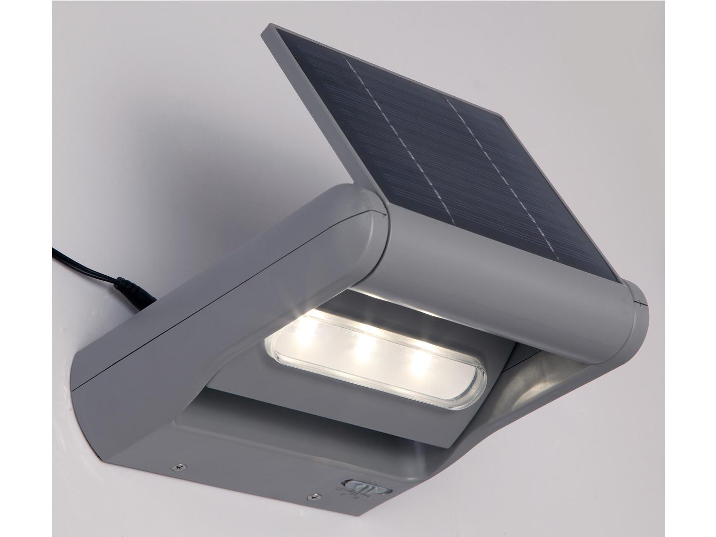 Solarleuchte mit dimmbar LED drehbar IP44 Wandleuchte Außenleuchte Gartenlicht Gartenlicht Gartenlicht 1ee79f