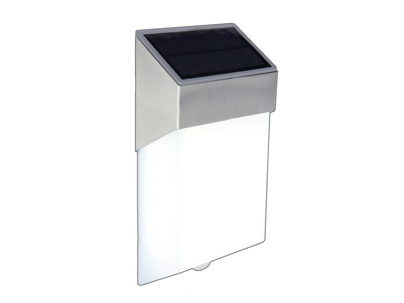 LED-Ausenwandleuchte-mit-Solar-Bewegungsmelder-Hausnummern-IP44-Wandleuchten miniatura 2