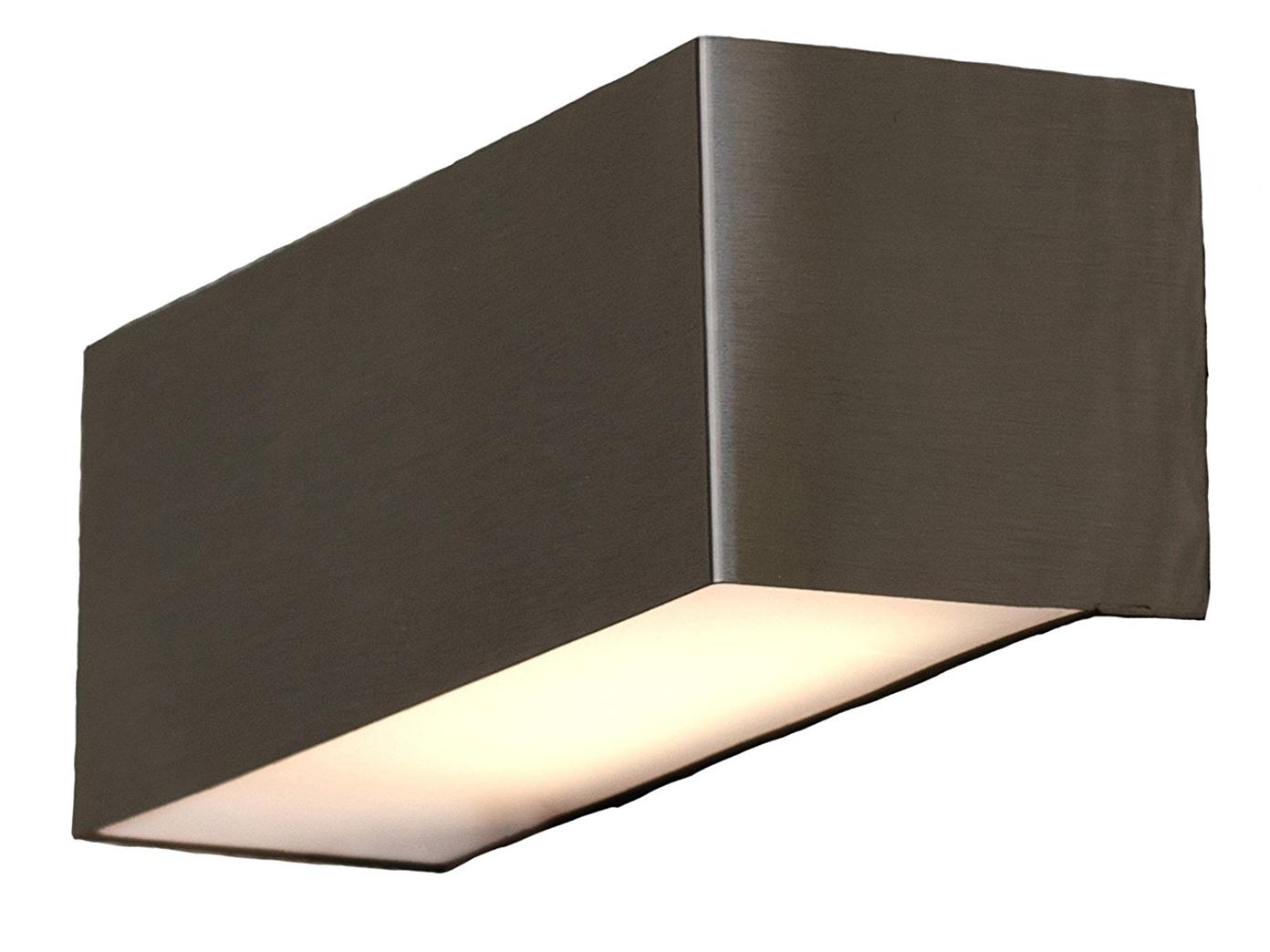 led wandleuchte edelstahl au enleuchten ip44 up downlight beleuchtung fassade eur 26 49. Black Bedroom Furniture Sets. Home Design Ideas
