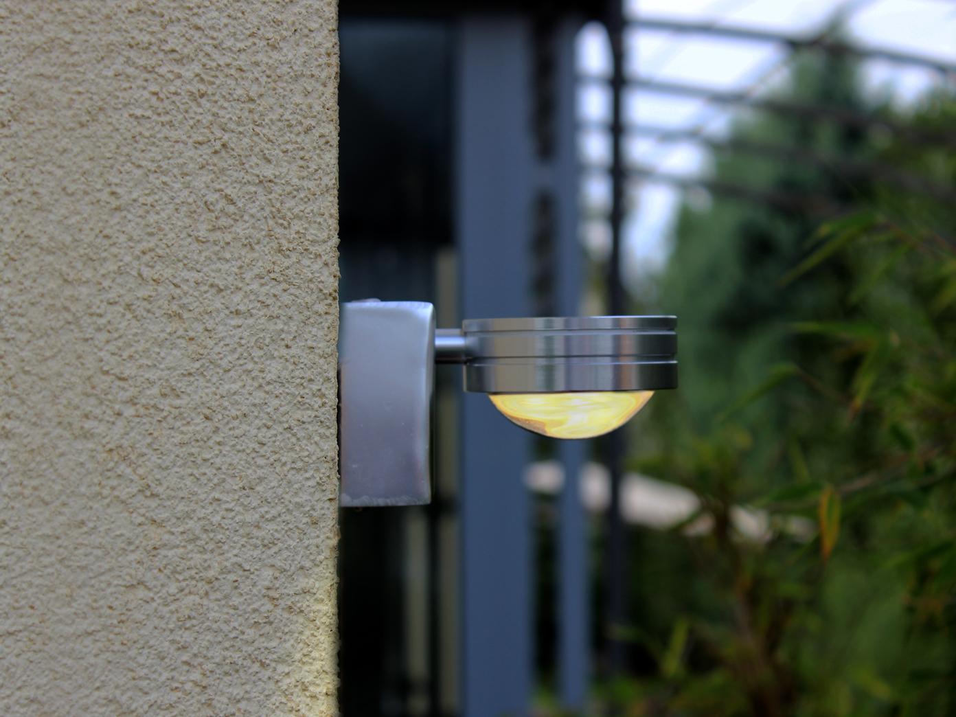 Außenle Terrasse außenleuchte edelstahl wandle led downlight außenbeleuchtung haus
