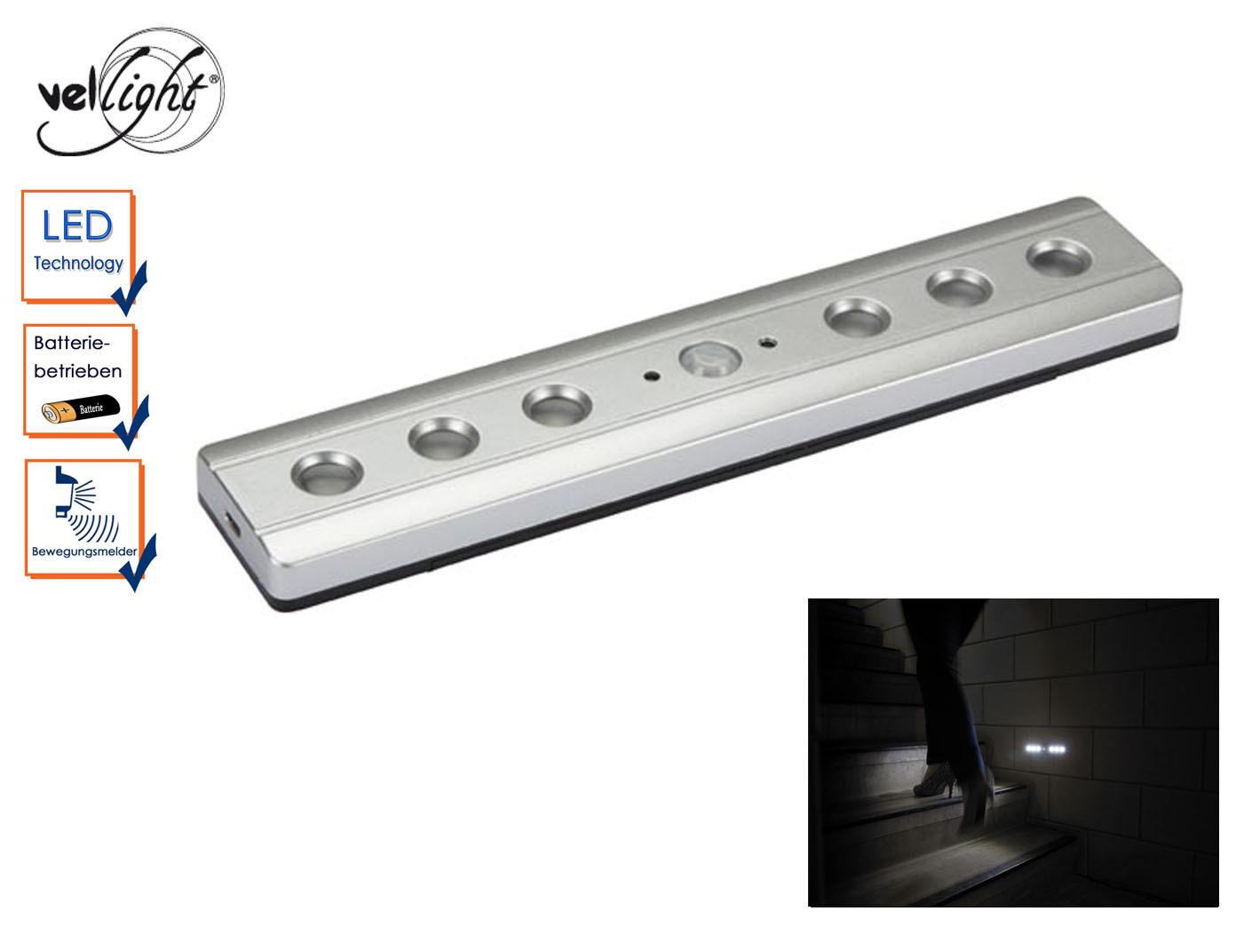 led beleuchtung mit bewegungsmelder treppenbeleuchtung nachtlicht lichtleiste ebay. Black Bedroom Furniture Sets. Home Design Ideas