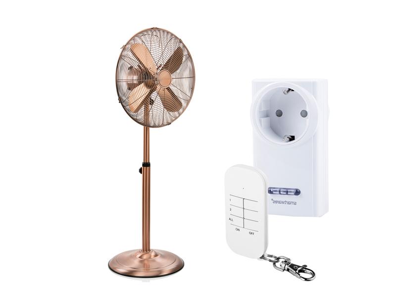 standventilator h henverstellbar mit fernbedienung funksteckdose winderzeuger ebay. Black Bedroom Furniture Sets. Home Design Ideas