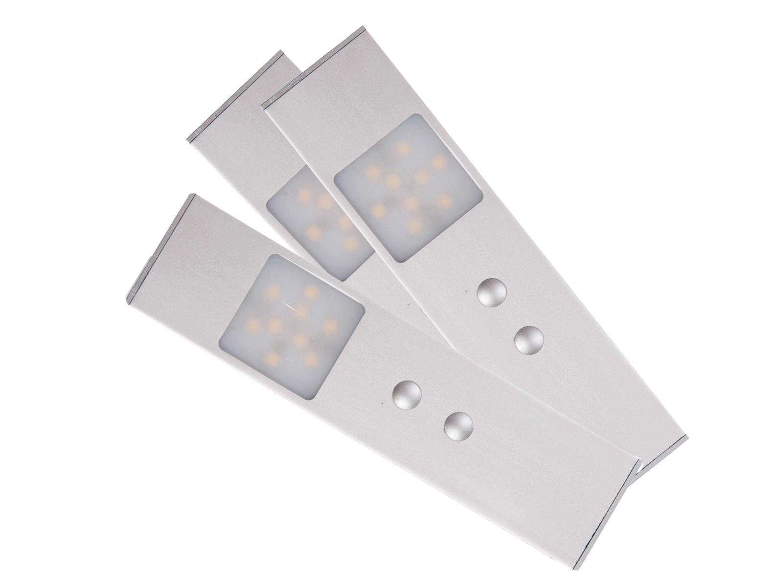 3 LED Sensore di movimento luci 2,1w Lampada sottostruttura Cassetti Armadio Lampada Lampada