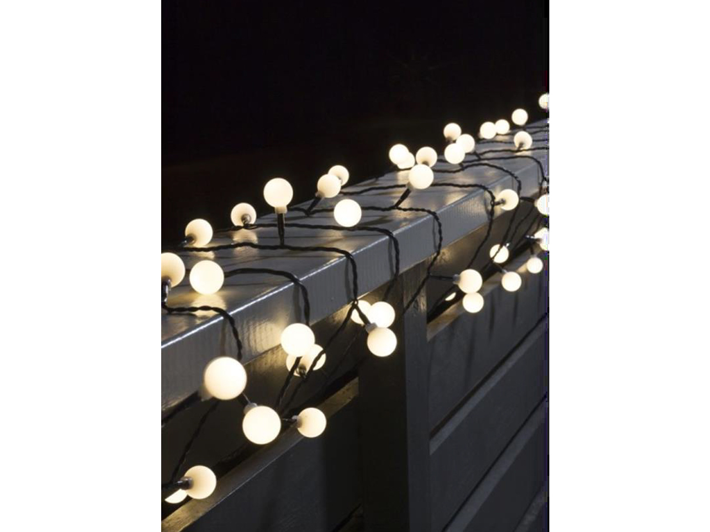 deko lichterkette 80 runde led dioden ip44 lichterkette kugeln au en dekoleuchte ebay. Black Bedroom Furniture Sets. Home Design Ideas