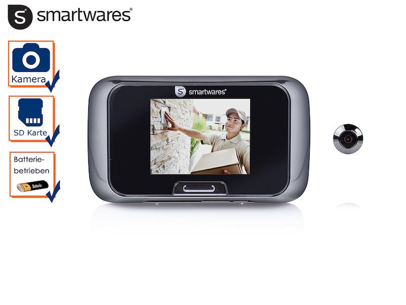 digitaler t rspion haust r berwachung viewer mit video kamera und bildschirm ebay. Black Bedroom Furniture Sets. Home Design Ideas