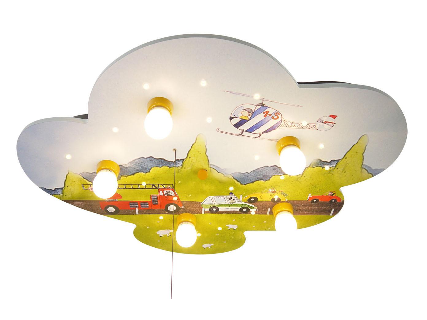 LED Kinderzimmerlampe Decke AUTOS LED Schlummerlicht, Amazon Echo ...