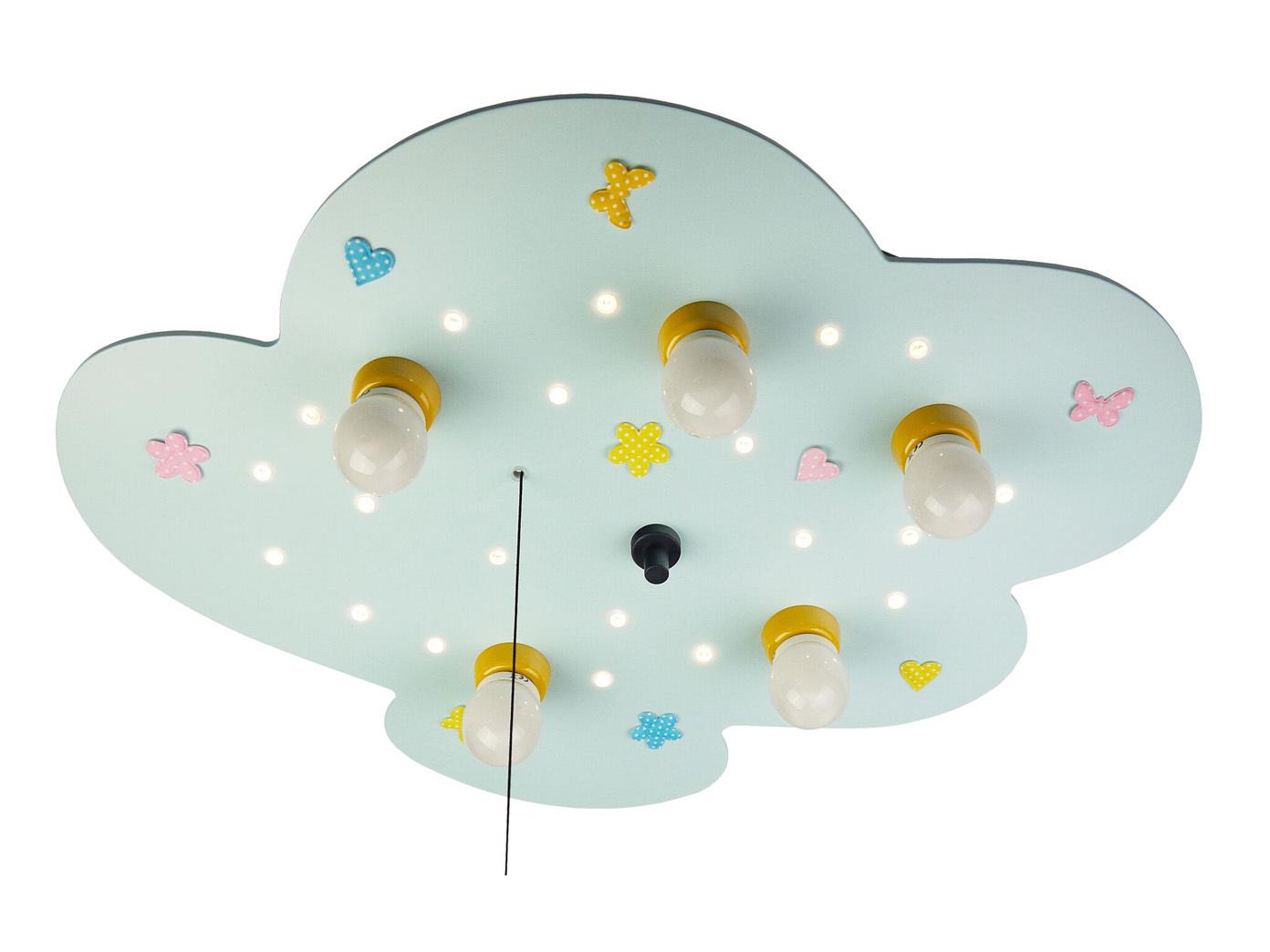 Led deckenlampe f r kinderzimmer wolke amazon echo kompatibel led schlummerlicht eur 124 99 - Amazon kinderzimmer ...