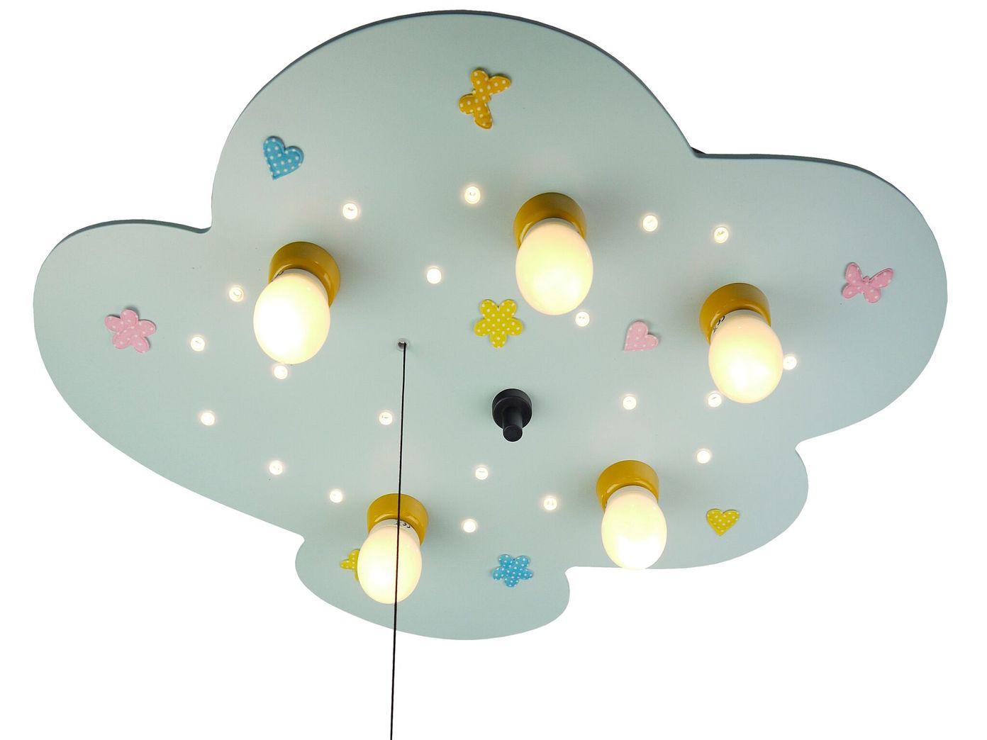 led deckenlampe f r kinderzimmer wolke amazon echo kompatibel led schlummerlicht eur 124 99. Black Bedroom Furniture Sets. Home Design Ideas