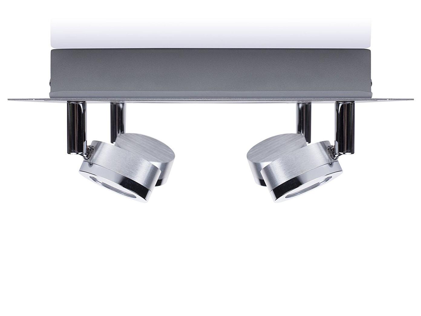 2stk led badlampen deckenleuchten schwenkbare deckspots. Black Bedroom Furniture Sets. Home Design Ideas