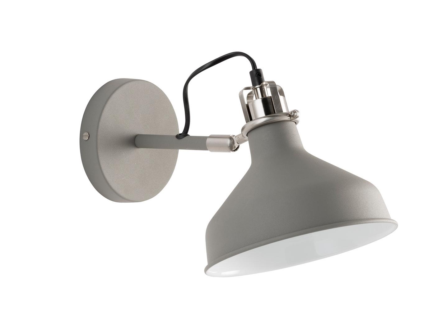 Das Bild Wird Geladen Verstellbare Wandleuchte Nickel Grau LED  Schlafzimmerlampe Buero Design