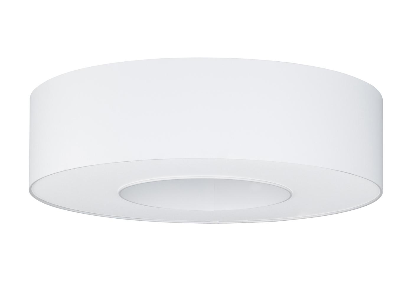 Techo moderna iluminación de tela blanco blanco tela pantalla al rojo edor de Ø 65cm-externamente regulable-lámpara 4e77f0
