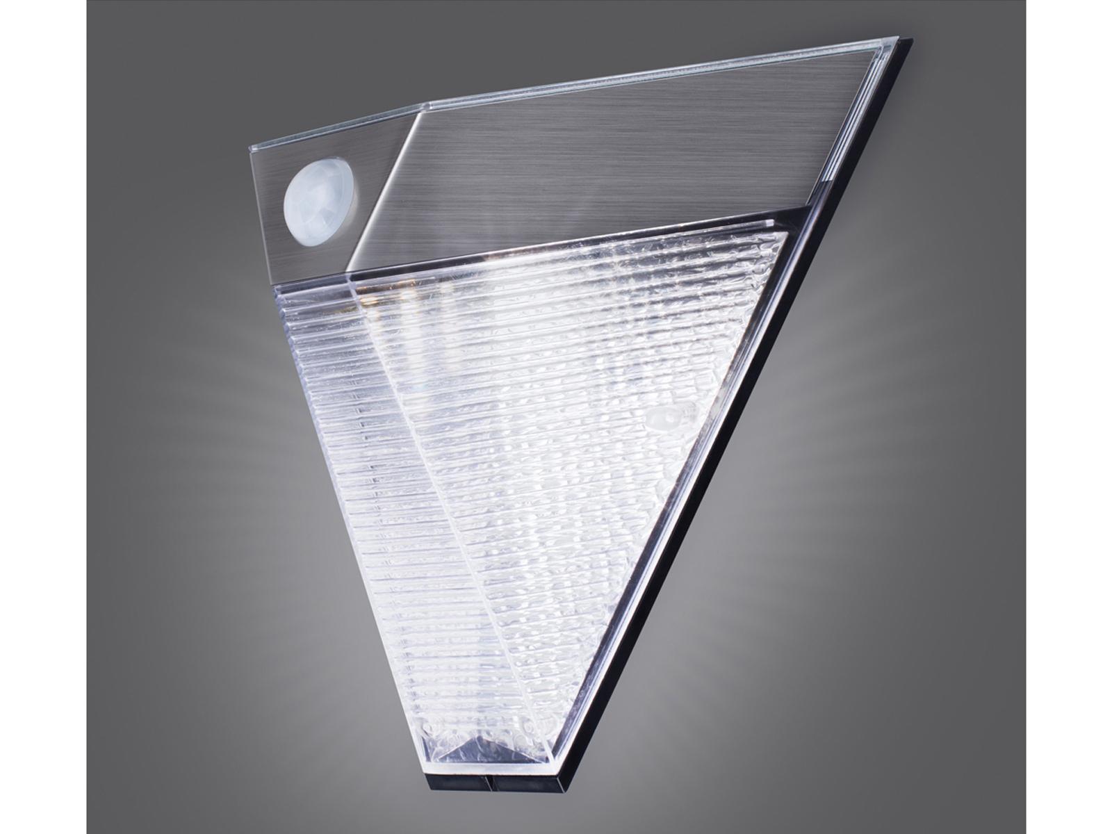 2er Set Led Aussenbeleuchtung Fassade Haus Dreieckig Bewegungsmelder