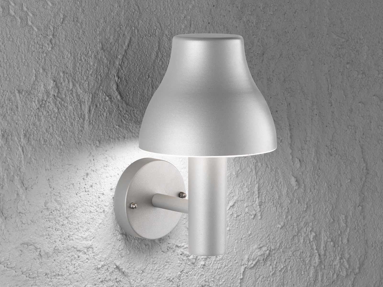 Lampada ESTERNO ALLUMINIO ipp44 H. 29cm LED Lampada da da da parete esterno illuminazione esterna casa 58c3c9