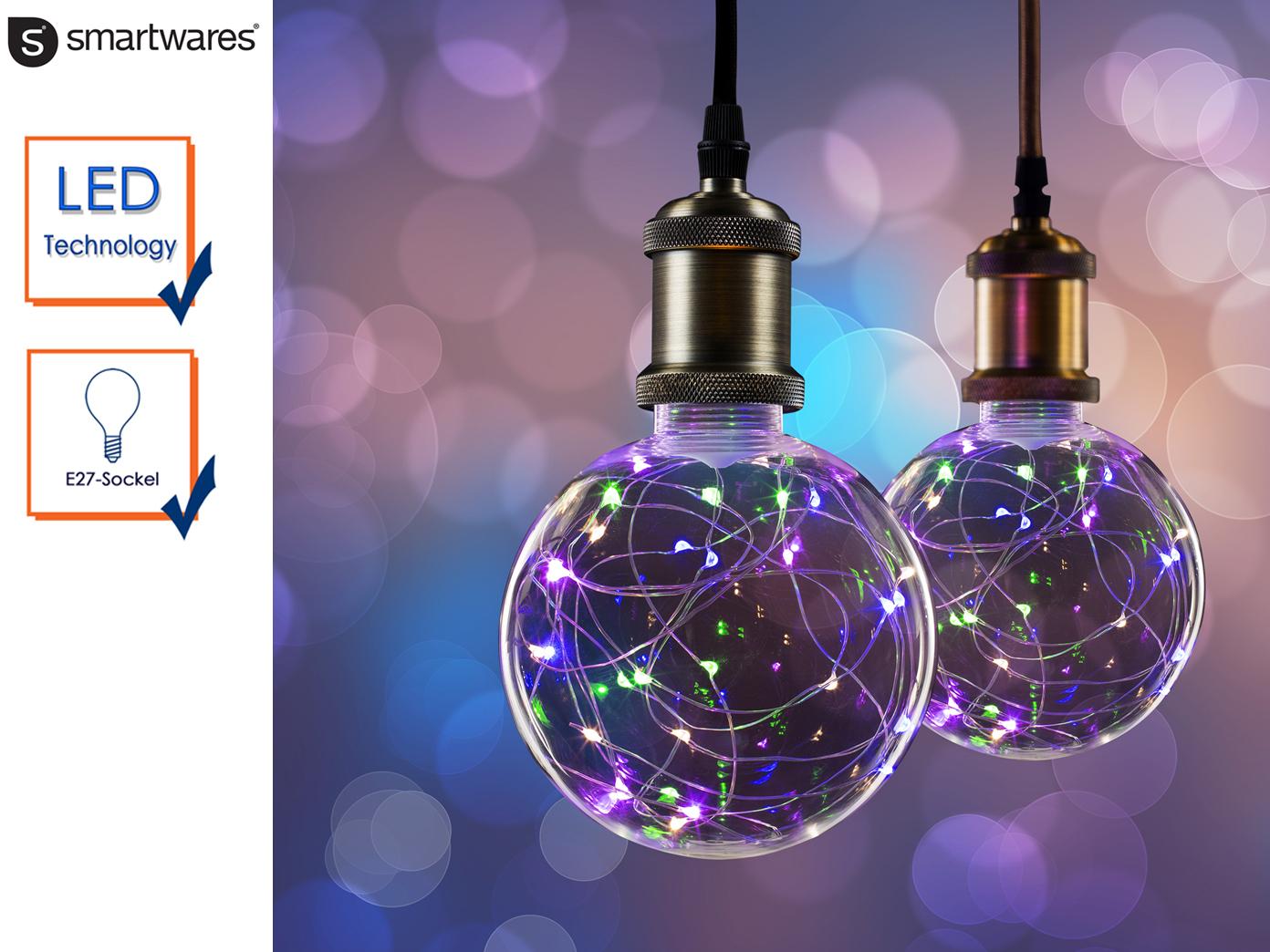 Das Bild Wird Geladen LED Lampe Kugel 2 Watt E27 Sockel 30