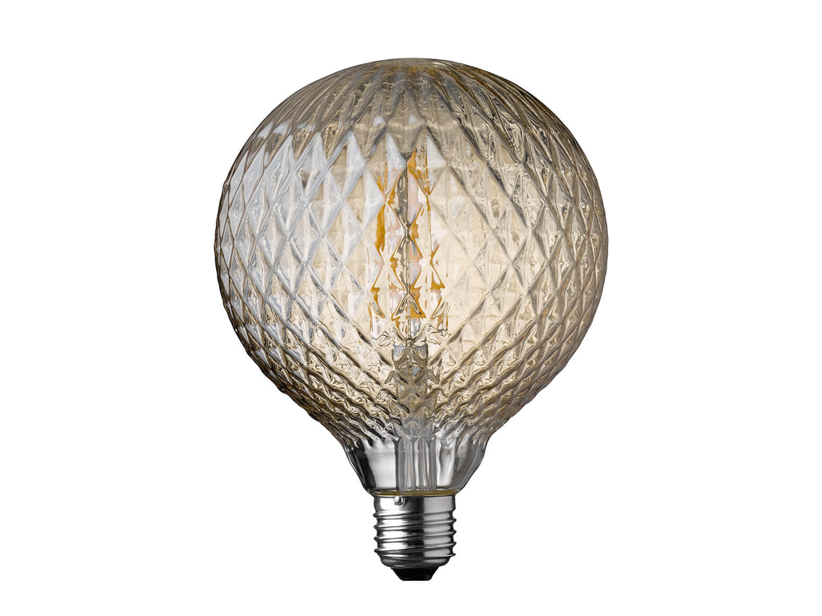 LED Lampe Struktur Retro 4 Watt 300 Lumen 1800 Kelvin E27 ...
