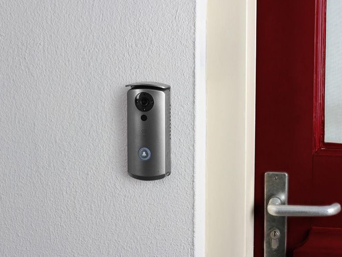 t ranlage hausklingel mit kamera videosprechanlage 2 draht. Black Bedroom Furniture Sets. Home Design Ideas