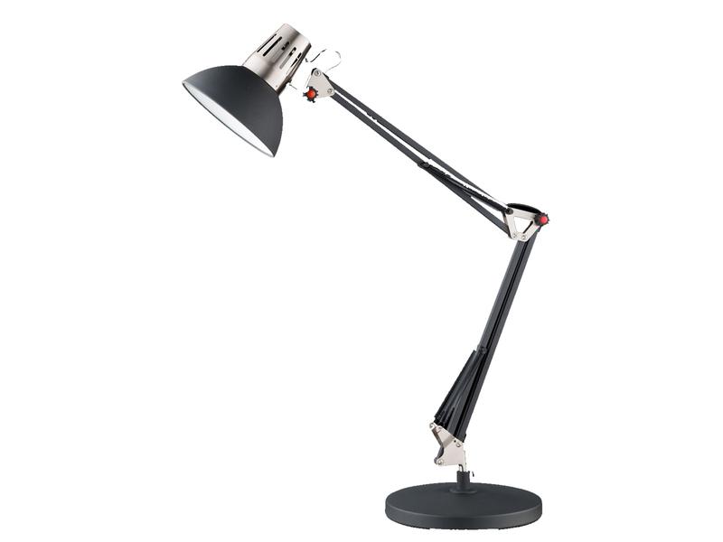 Design Klemm Leuchte Schreib Tisch Lampe schwenkbare Büro Beleuchtung schwarz