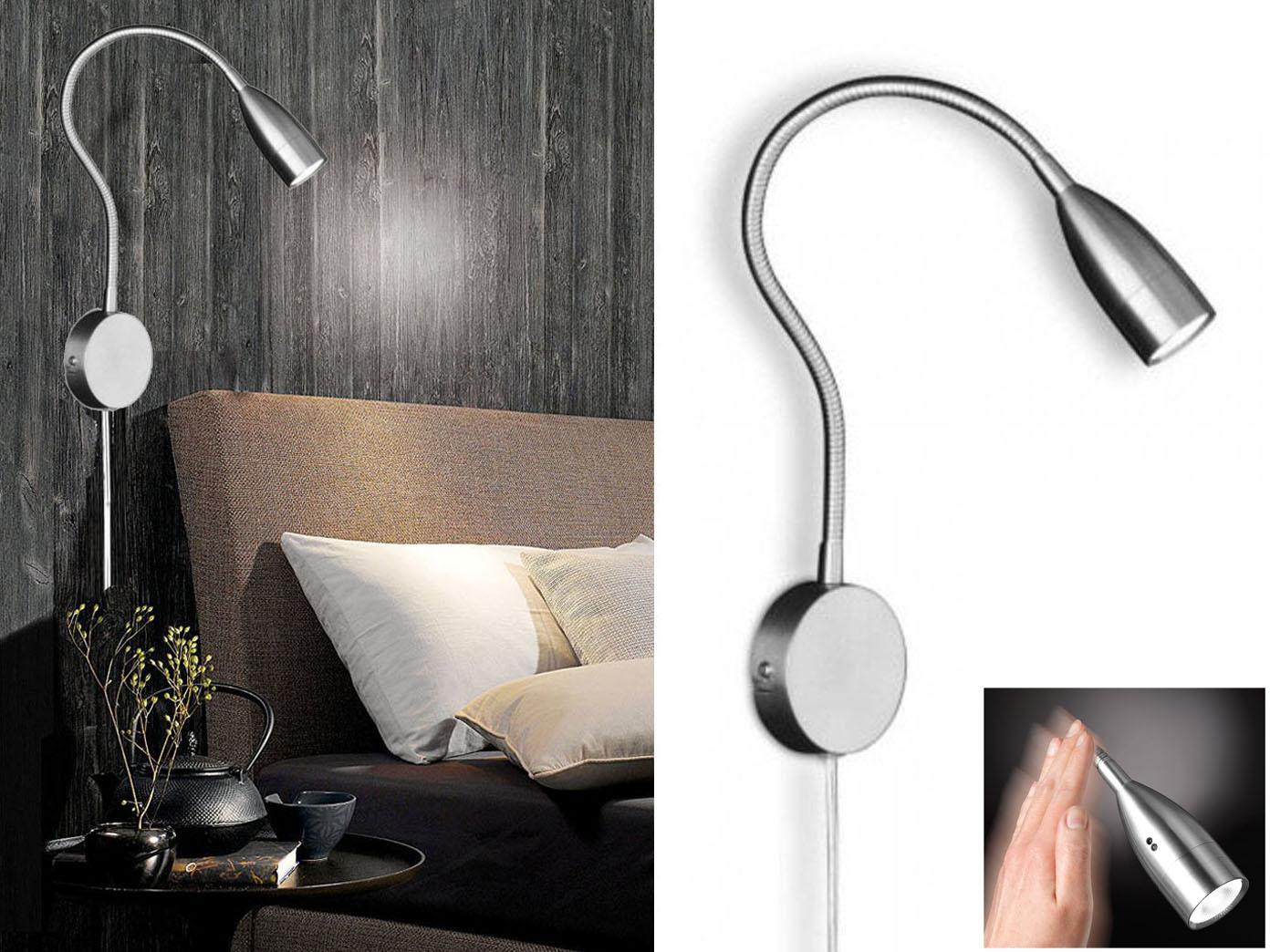 Bezaubernd Leselampe Dimmbar Dekoration Von Flexible-led-leselampe-dimmbar -bewegungssensor-leseleuchte-wandleuchte-wohnraum