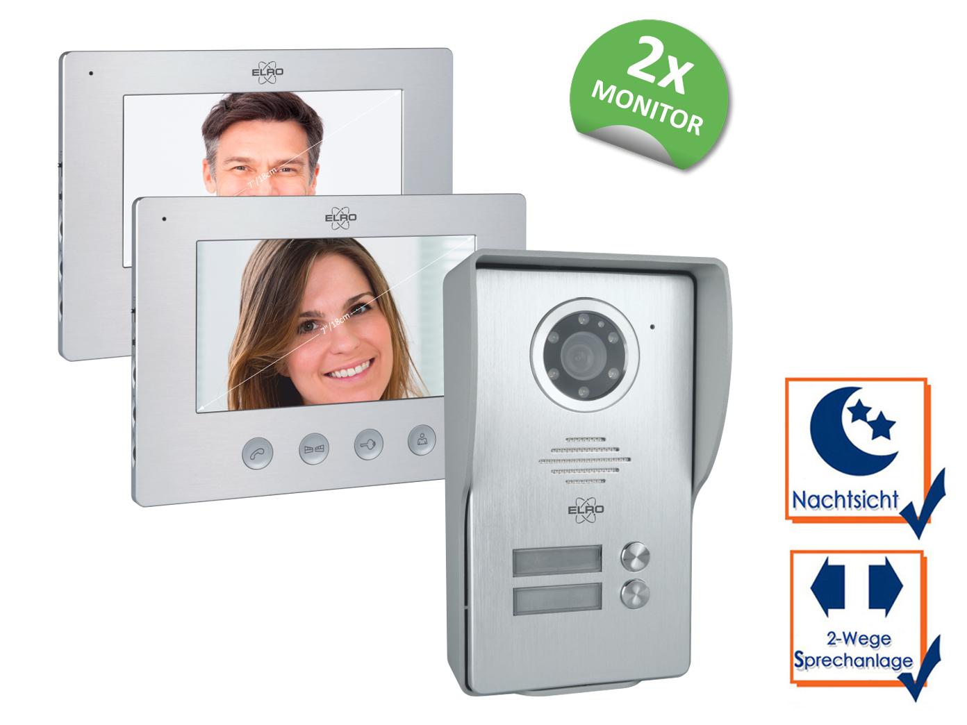 video klingelanlage mit türöffner, gegensprechanlage kamera für