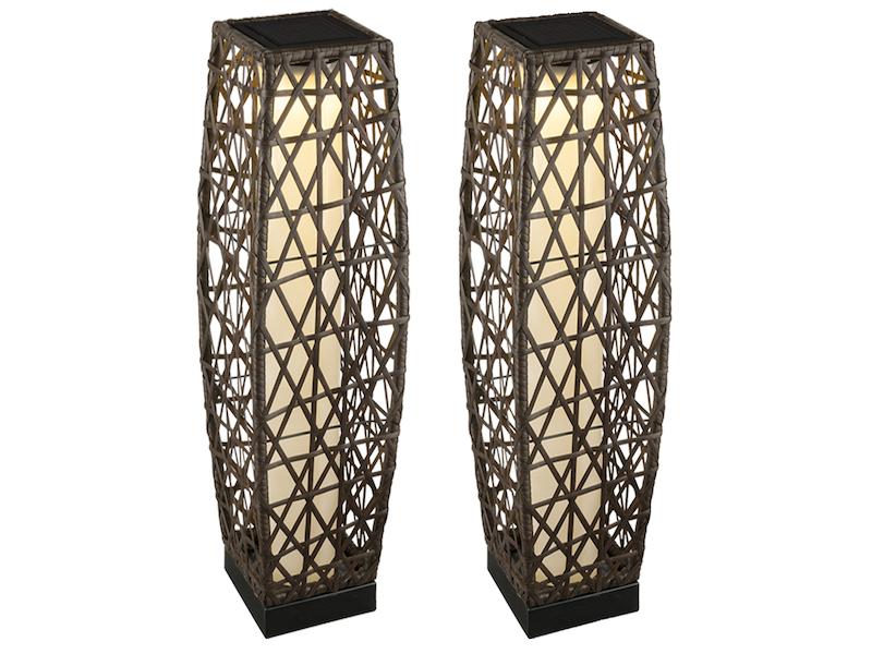 led solarlampen set f r drau en 2 au enlampen zum. Black Bedroom Furniture Sets. Home Design Ideas