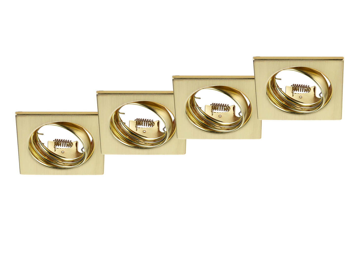4 instalación lámparas LED mantas spot cuadrada 8x8 cm escalera orientable escalera cm iluminación 37e5fe