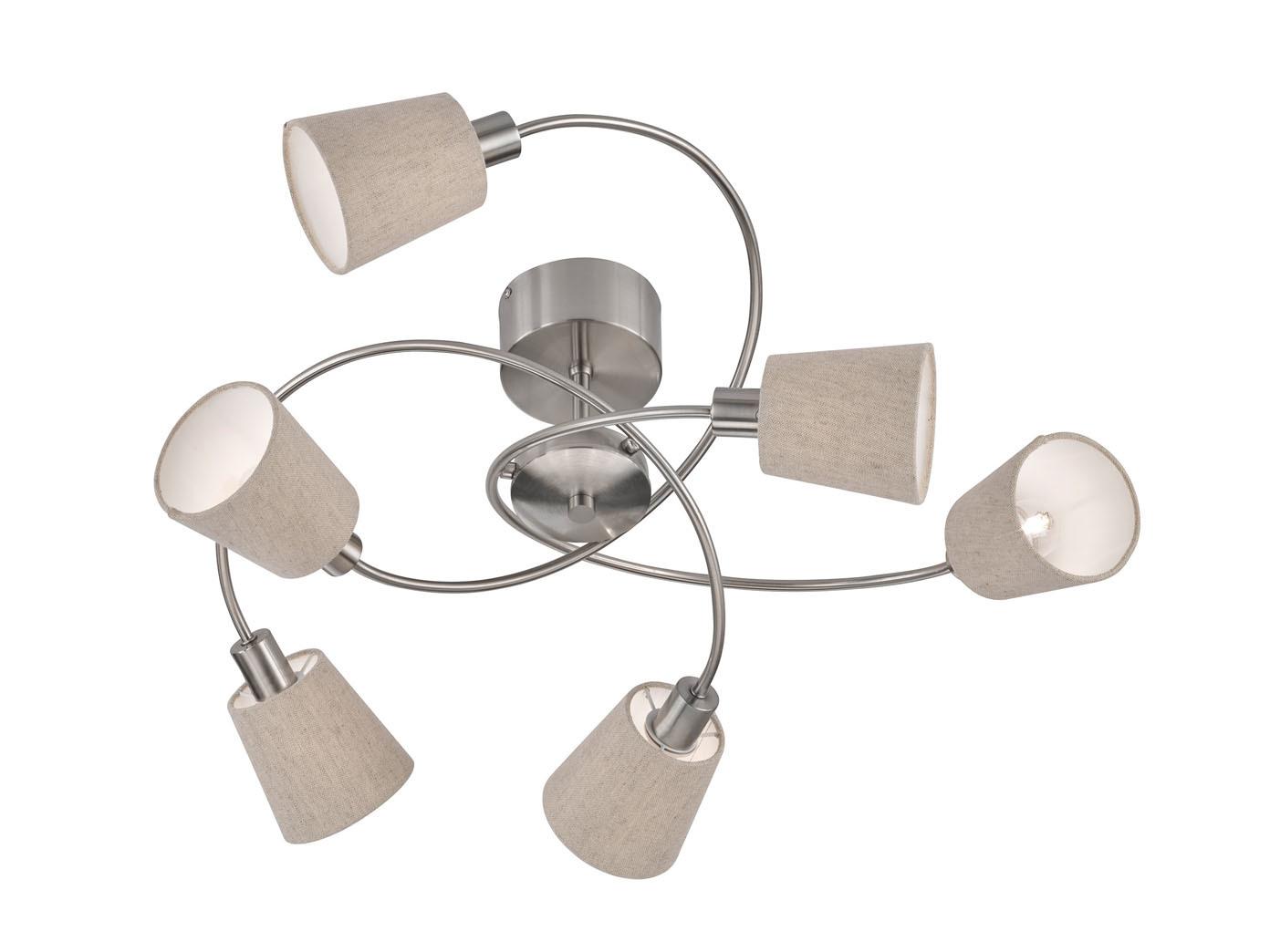 Grande lampada da soffitto a a a led per soggiorno camera da letto