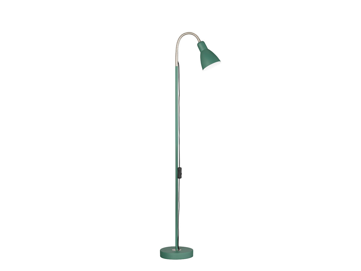 verde STAND Lampada Lettura Lampada con riflettore flessibile & LED, illuminazione soggiorno