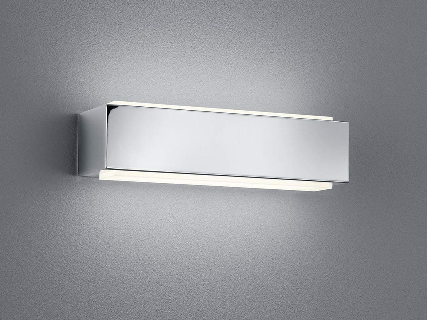Designer LED Parete Faretto Up & Down 25 x x x 7cm in Coloreeei cromo con un interruttore 073aaa