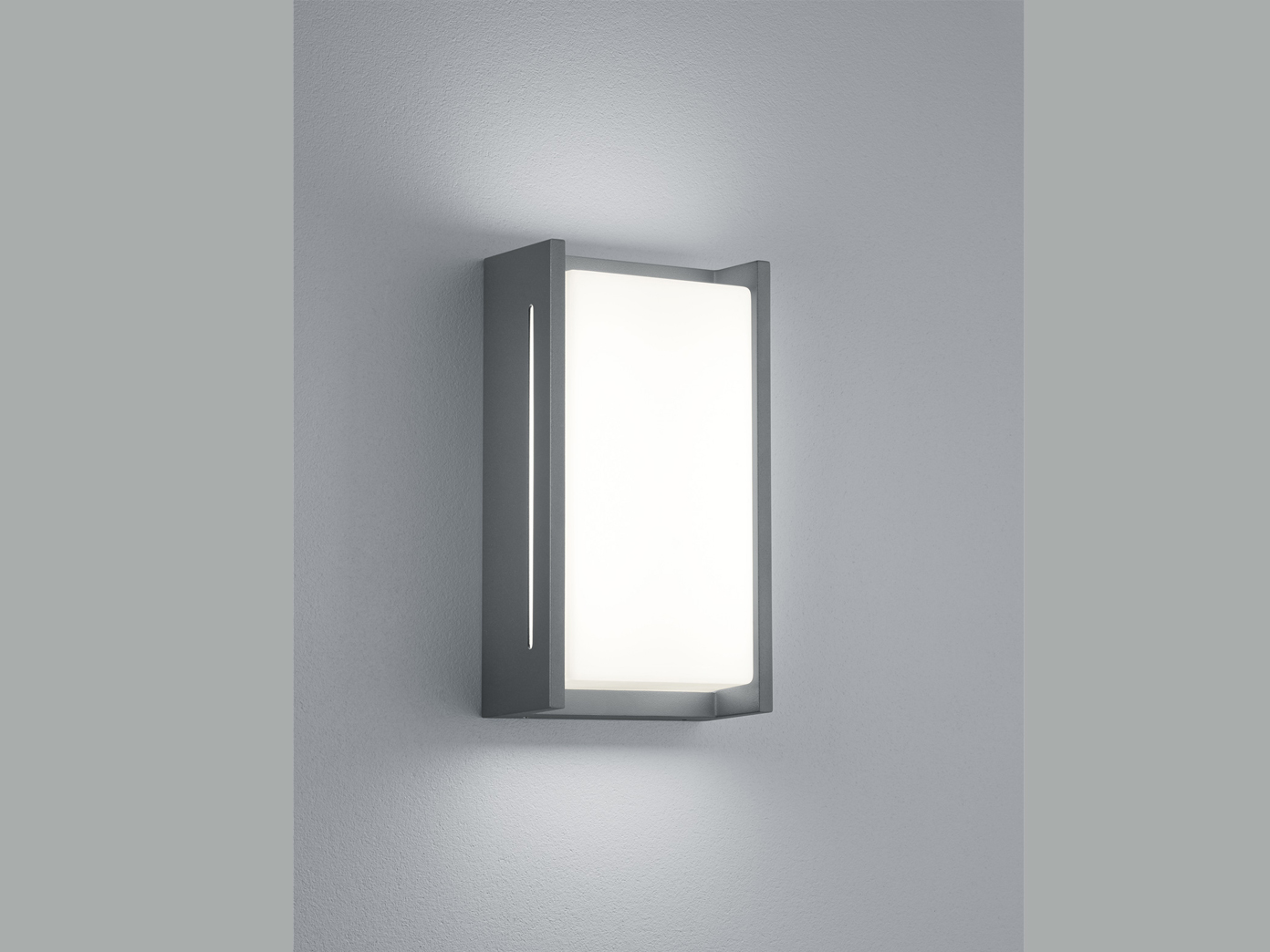 Acrylglas & aluminiumguss led außenwandleuchte indus in in in