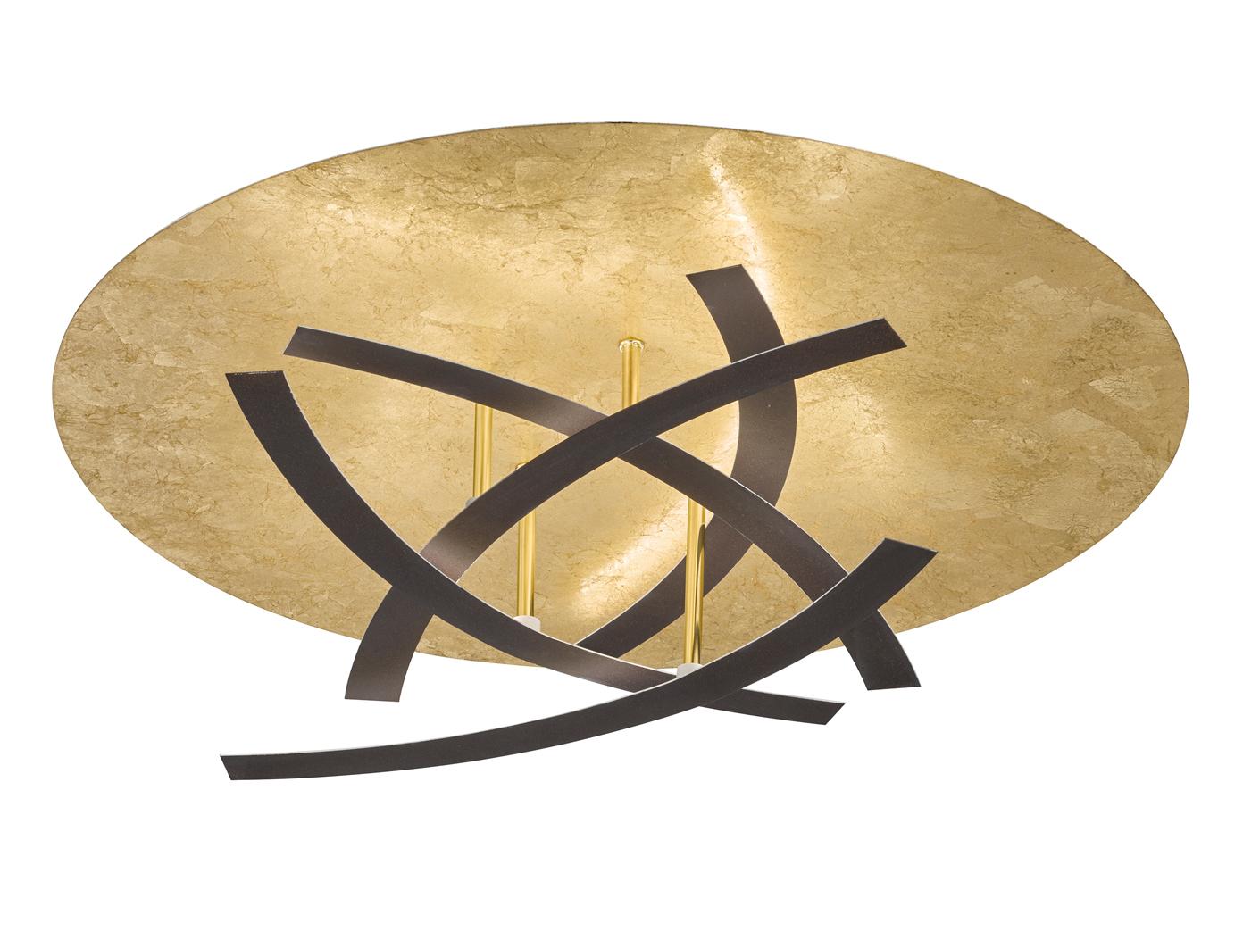 Plafoniera Camera Ragazzi : Led lampada da soffitto oro con d lichtffekt plafoniera