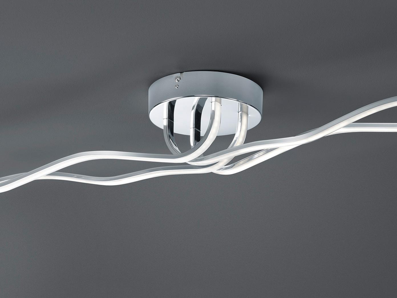 Trio Design LED Deckenleuchte Dimmbar, Deckenlampe