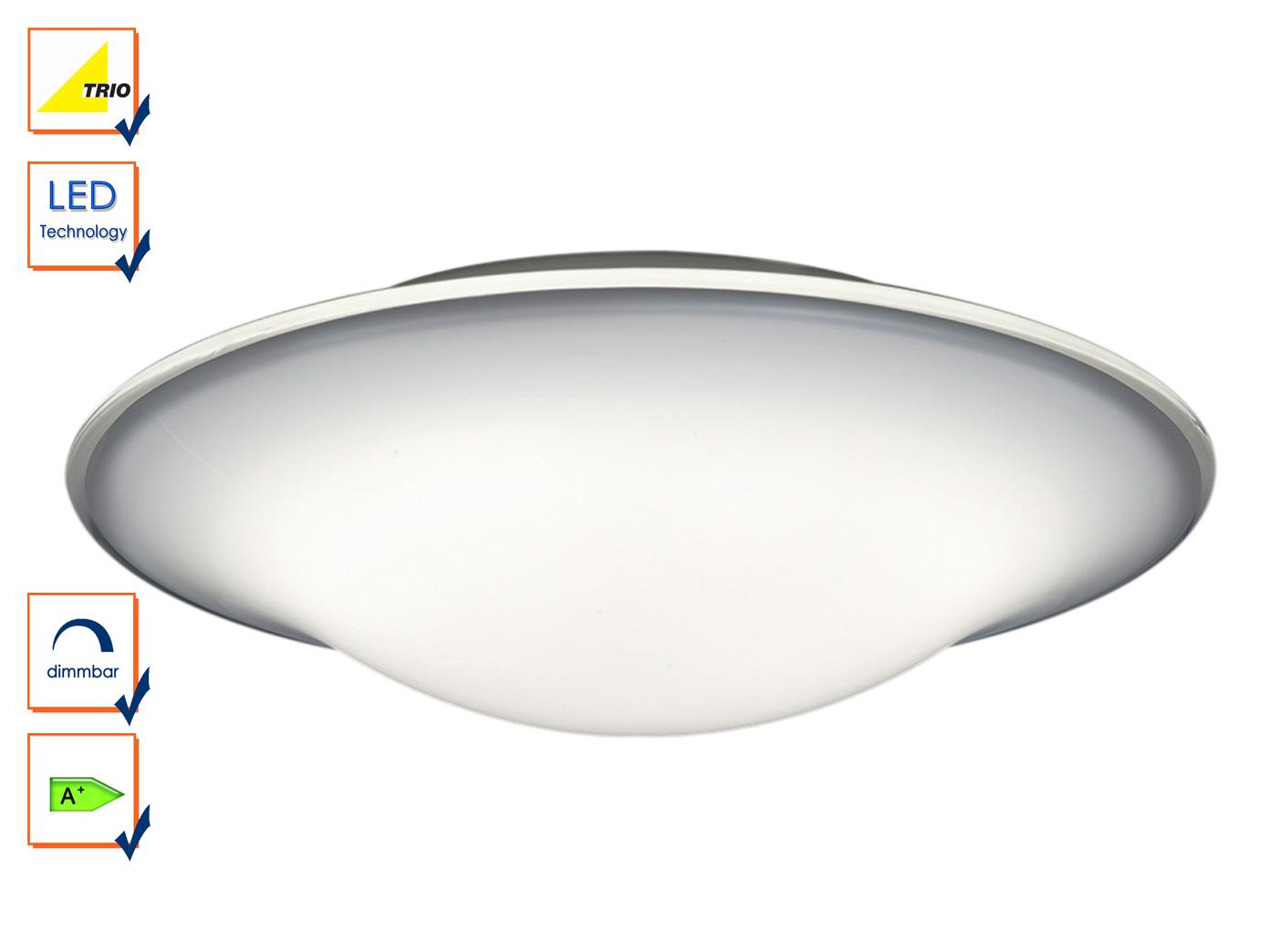 Astounding Deckenlampe Led Rund Galerie Von Das Bild Wird Geladen Led-deckenleuchte-deckenlampe-rund -45cm-dimmbar-weiss-design-