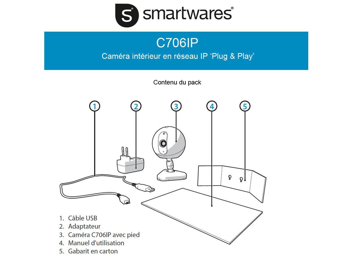 WIFI Netzwerkkamera mit QR-Code Erkennung IP-Kamera Babyphone