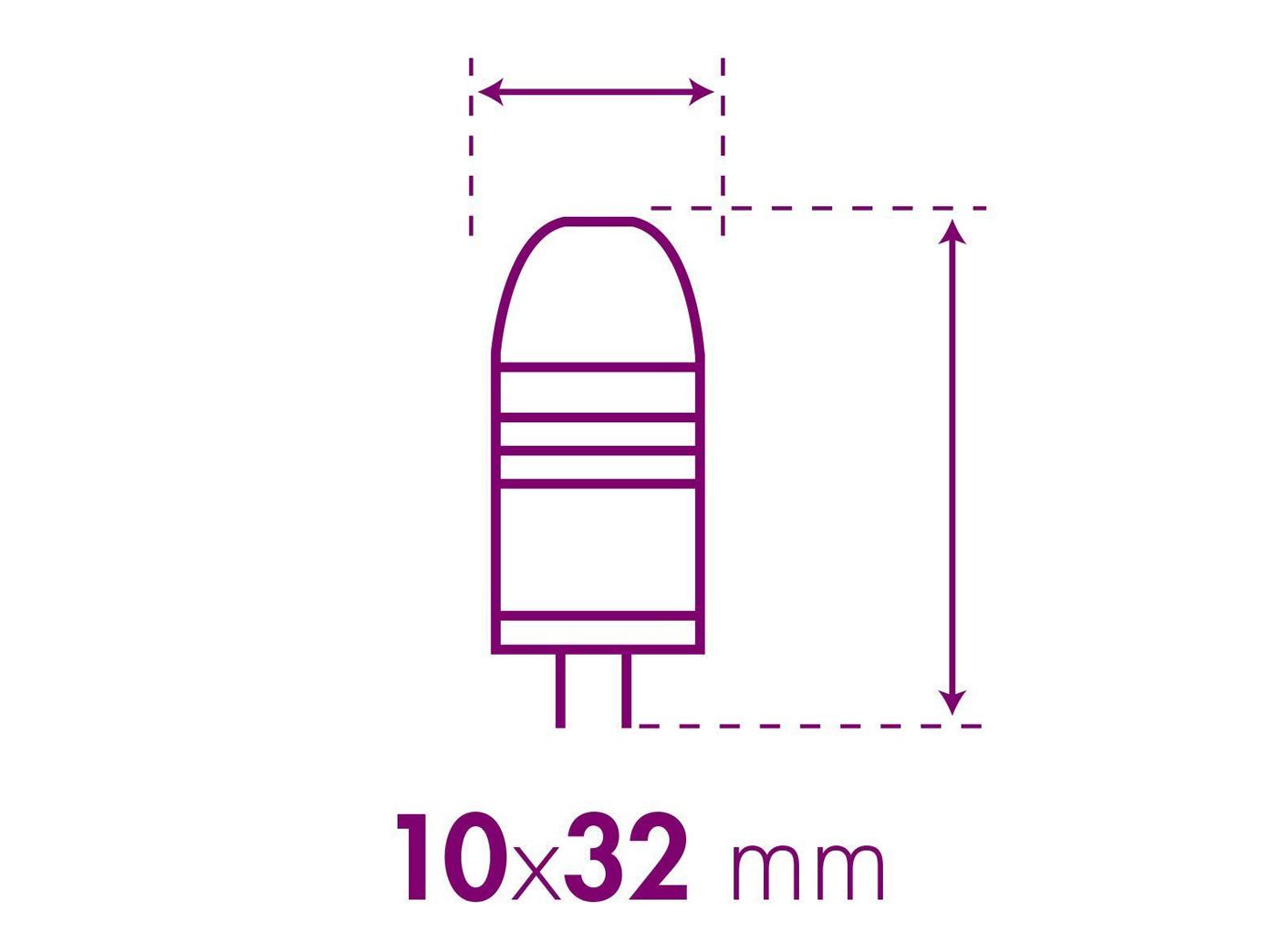 niedervolt smd led leuchtmittel 1 2 watt warmwei g4 12v xq lite ebay. Black Bedroom Furniture Sets. Home Design Ideas