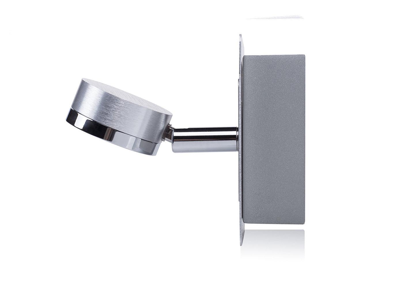 led lampe f rs bad wandleuchte spiegelleuchte schwenkbar wandspot edelstahl ebay. Black Bedroom Furniture Sets. Home Design Ideas