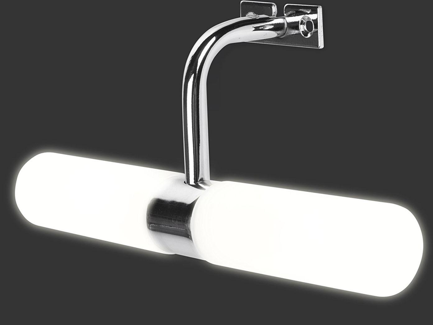 Badleuchte Spiegellampe Wandlampe Lampenschirm Glas