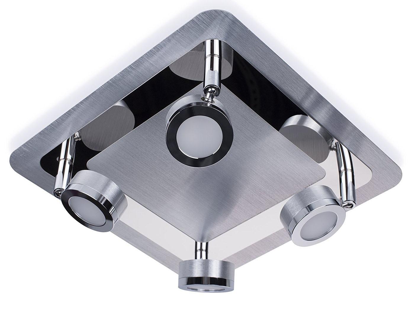 Plafoniere Bagno Da Soffitto : Lampada da soffitto bagno led spot fiamma